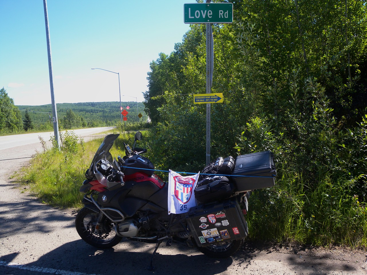 Love Road Bonus, Fairbanks, Alaska