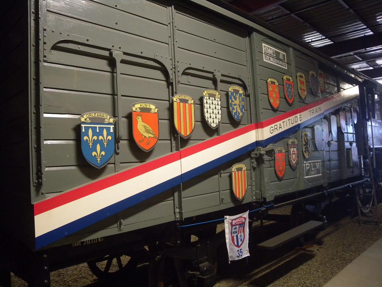 Merci Train Bonus, Carson City, NV