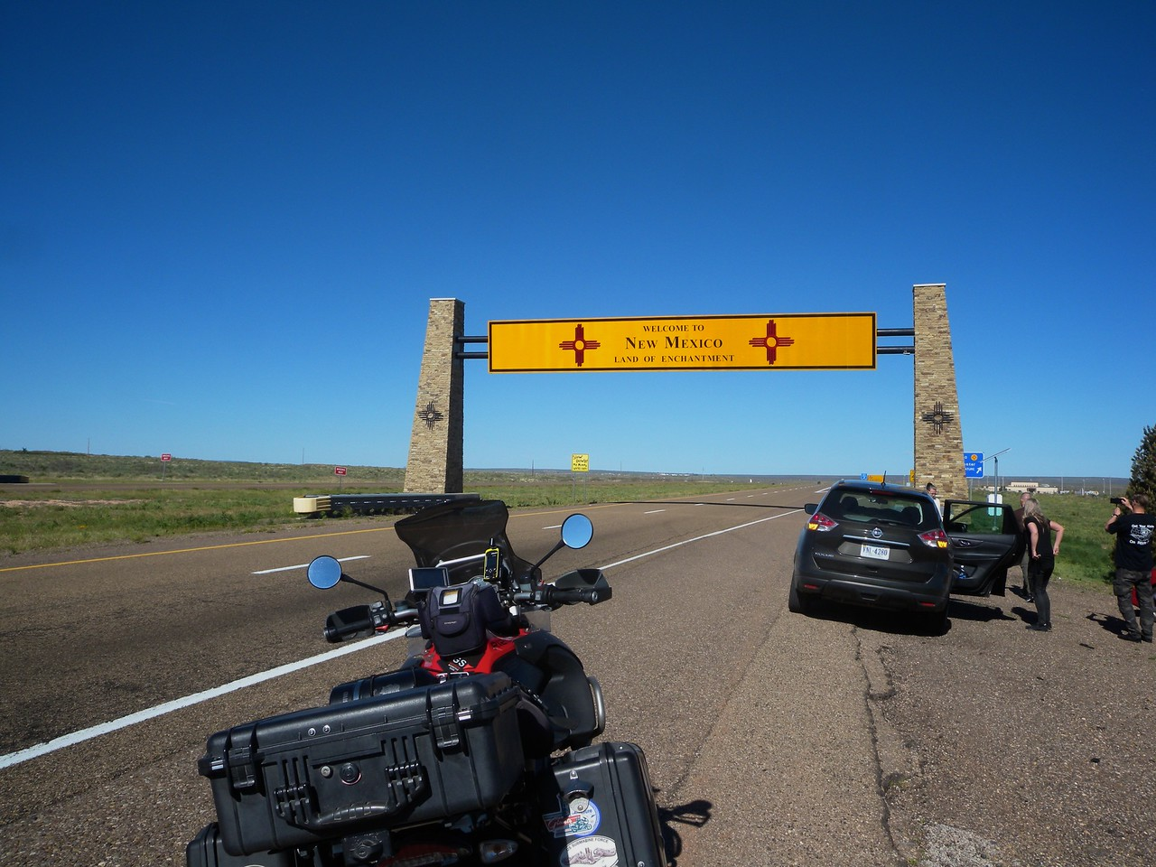 I-40/Rote 66, Texas, New Mexico Border
