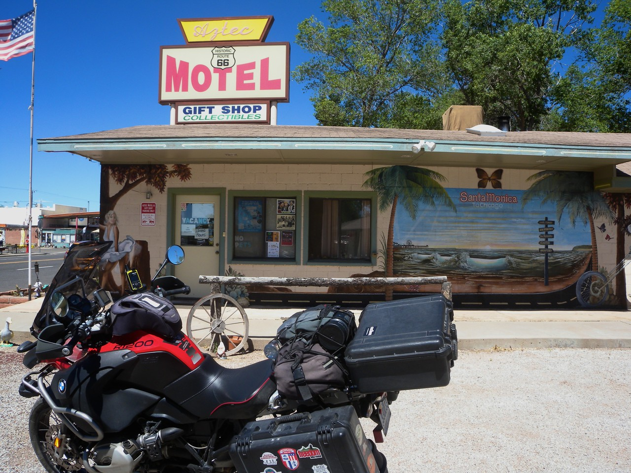 Aztec Motel, Seligman, Arizona