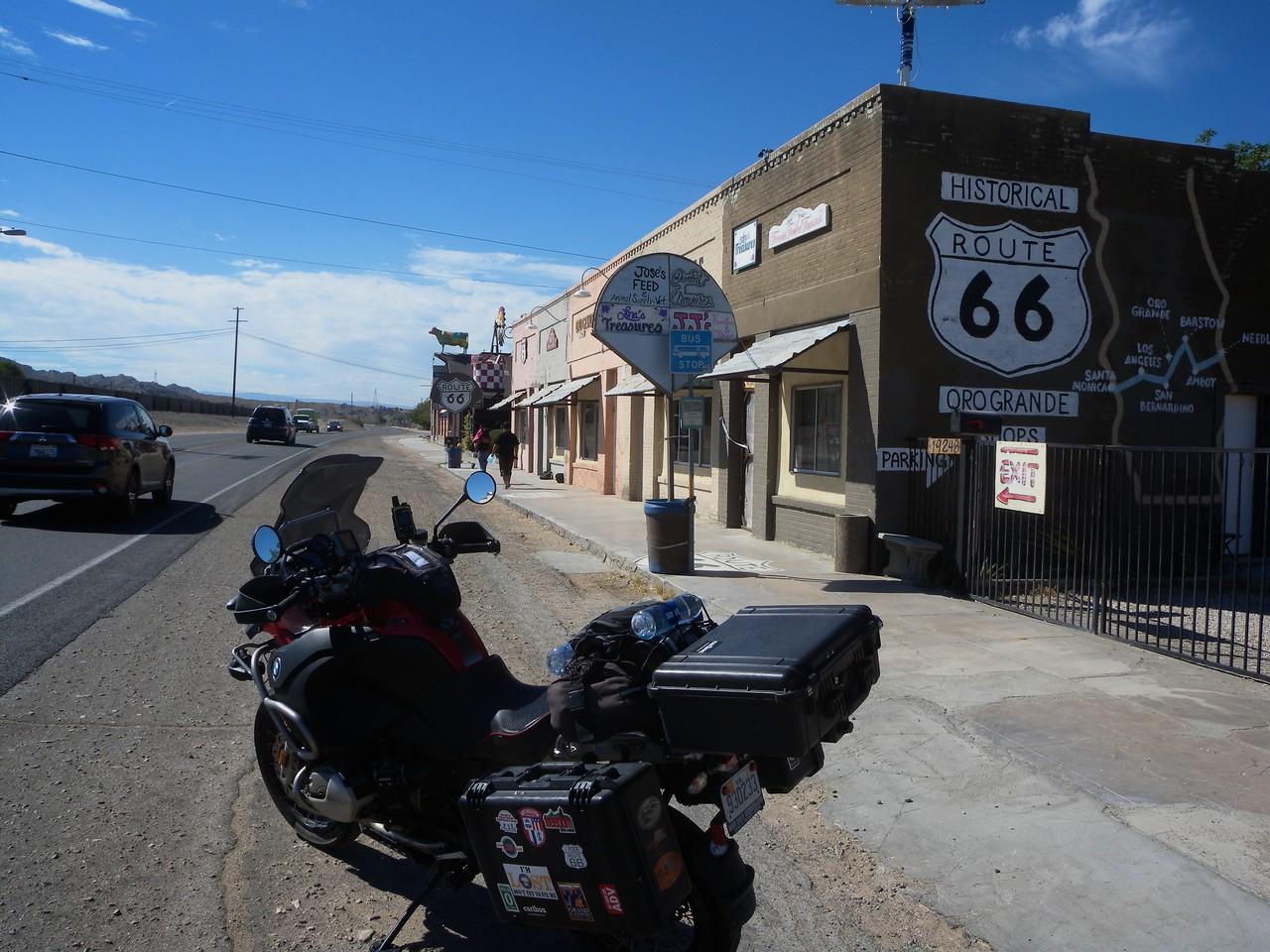Route 66, Oro Grande, California
