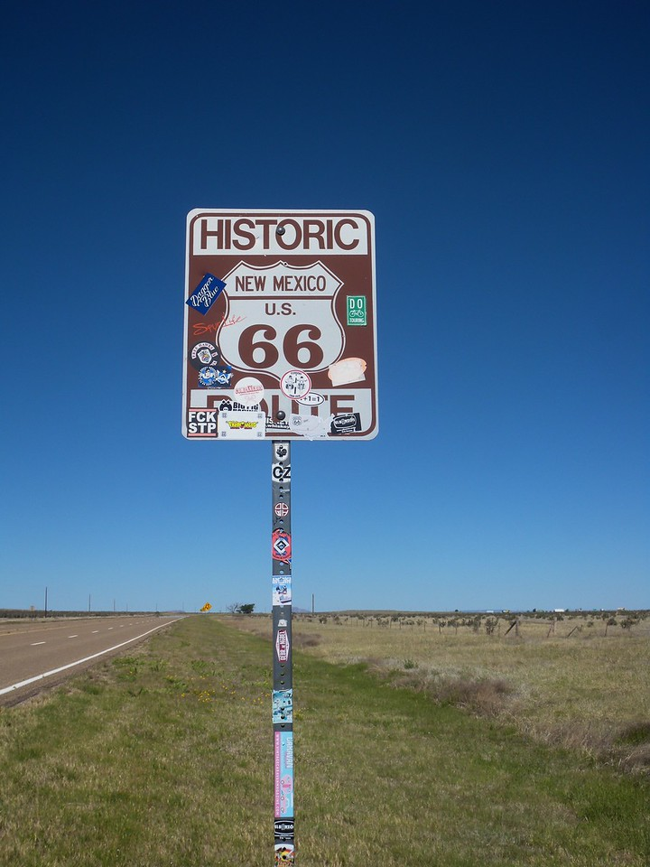 Route 66, San Jon, NM