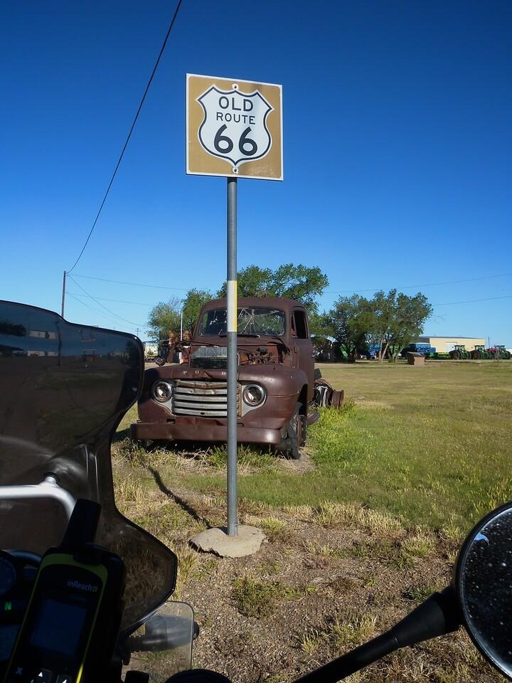 Route 66, Vega, TX