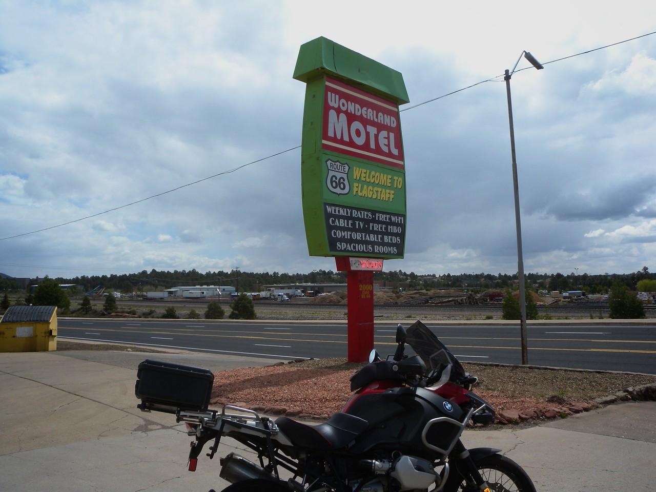 Wonderland Motel, Route 66, Flagstaff, AZ