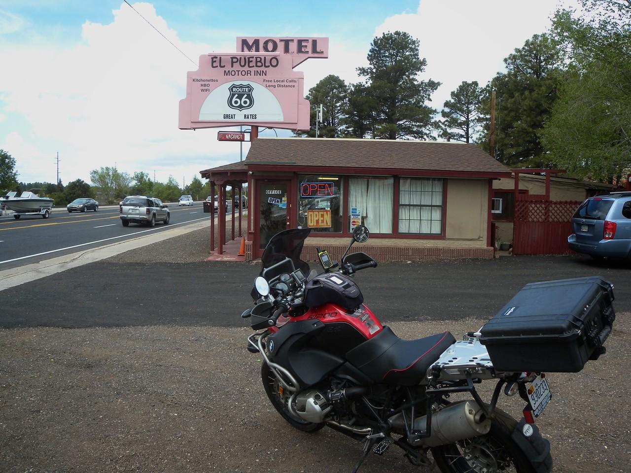 El Pueblo Motel, Route 66, Flagstaff, AZ