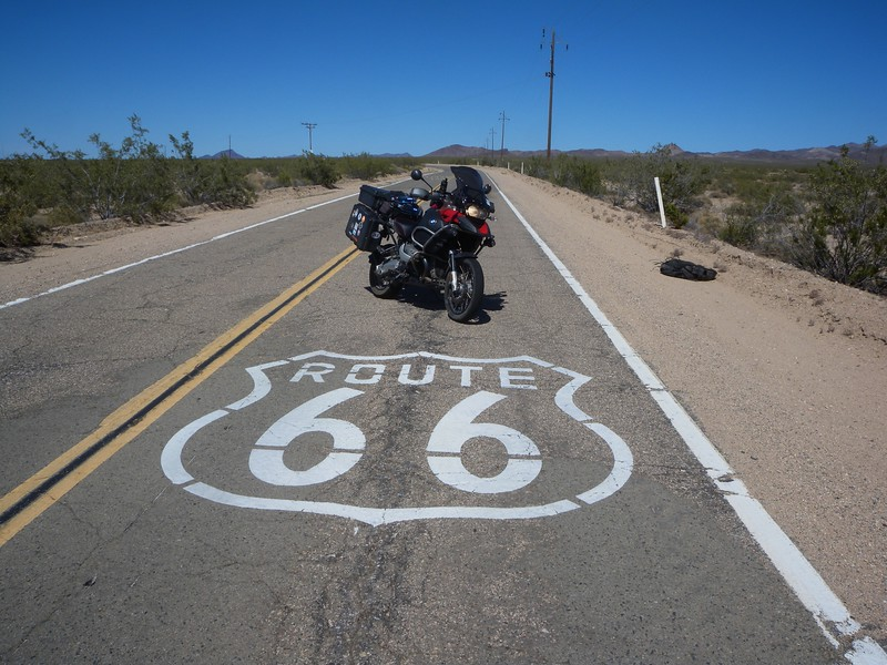 Route 66, Near Essex, California