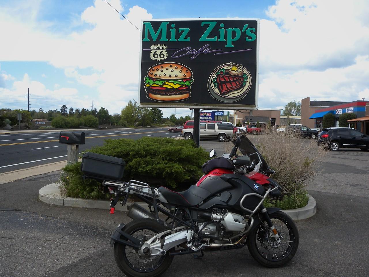 Miz Zip's, Route 66 Flagstaff, AZ