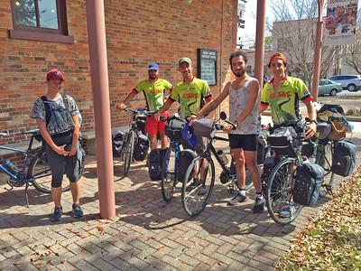 Touring Cyclist Hosting