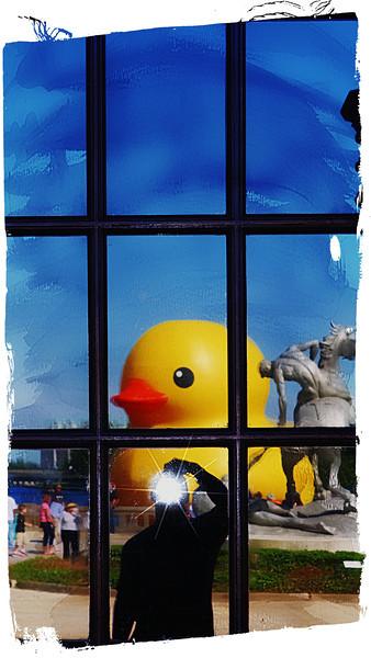 Rubber Duck Sculpture