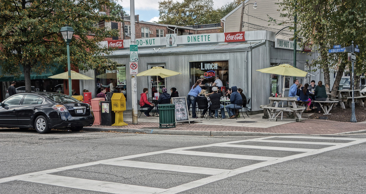 The Do-Nut Dinette on Colley Ave