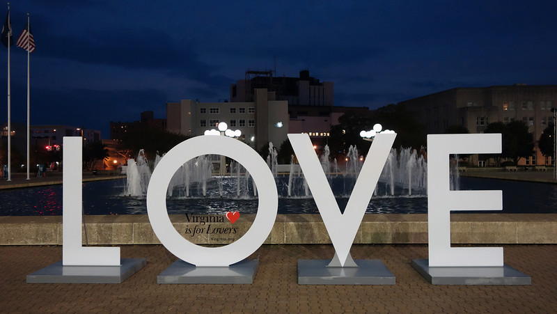 LOVE on the Plaza