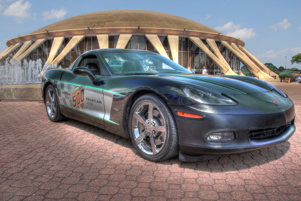 Indianapolis 500 Pace Corvette at Chrysler Hall, Norfolk