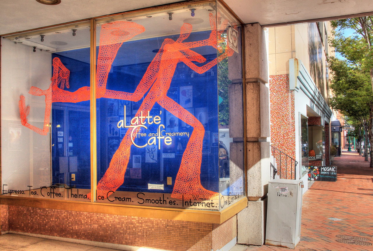aLatte Coffee & Creamery Cafe