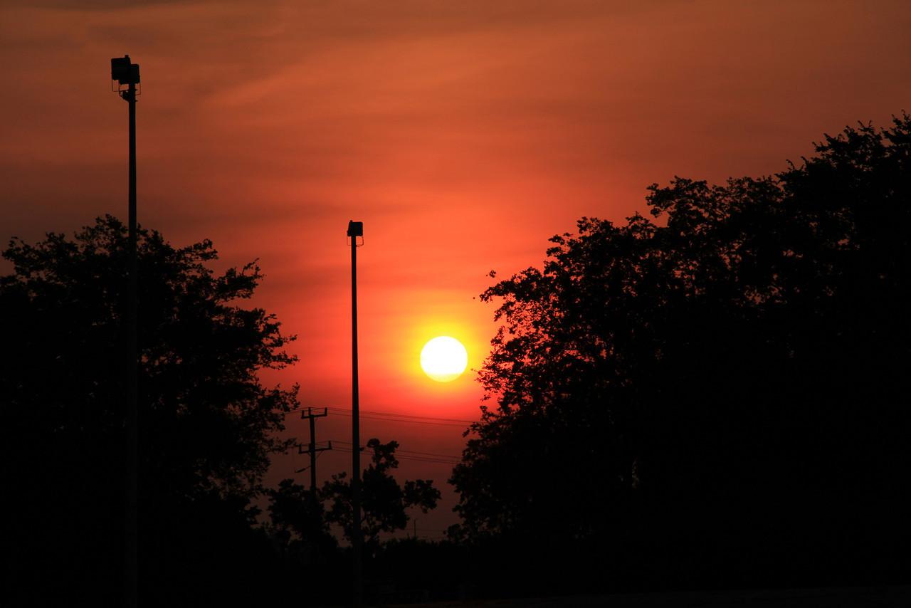 Morning Sunrise over Ceder Grove