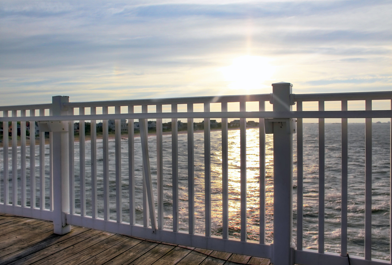 Sunset from Pier Restaurant Deck, Ocean View