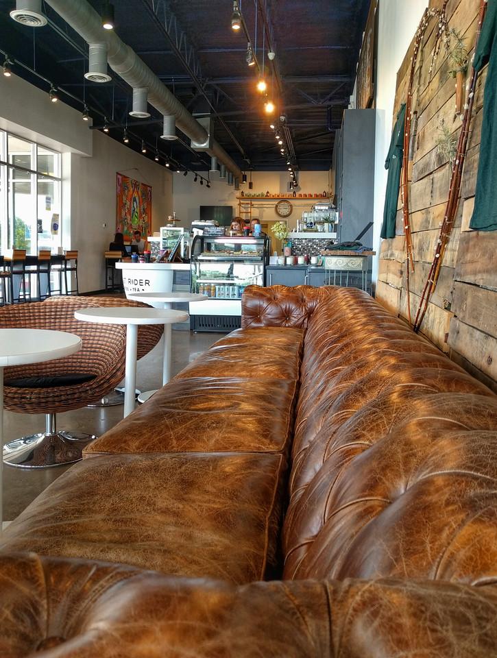 Sofa at Roast Rider in Va Beach, VA