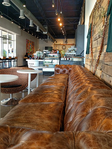 Sofa at Roast Rider in Va Beach, VA