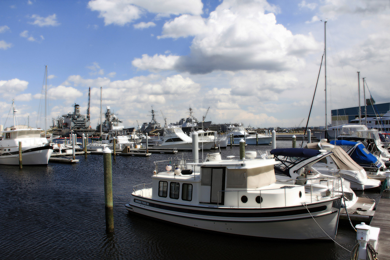 Ocean Marine Yacht Center in Portsmouth, VA