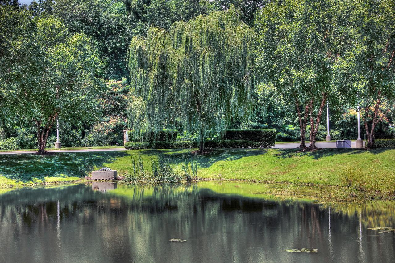 Pond at Harborview Regal Cinemas, Suffolk VA