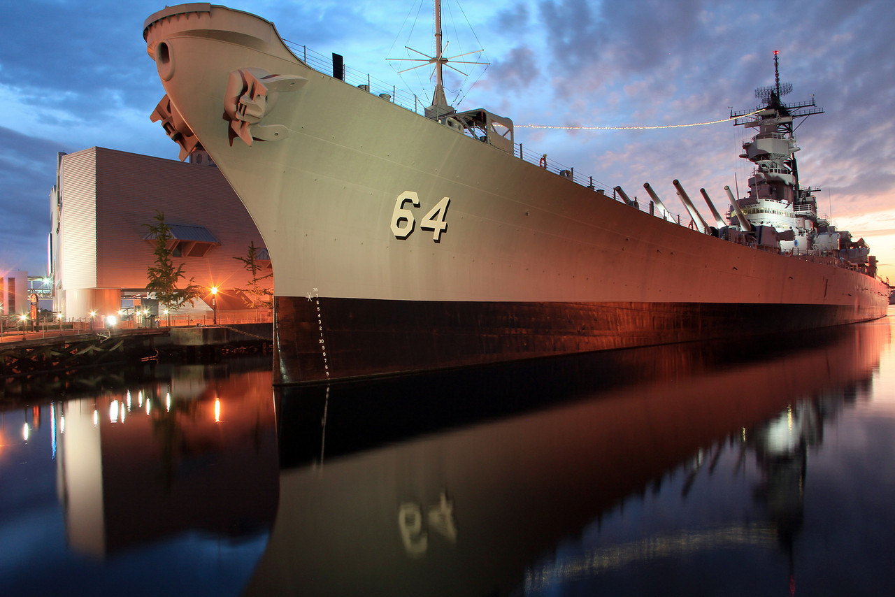 2012 Battleship Wisconsin - Downtown Norfolk