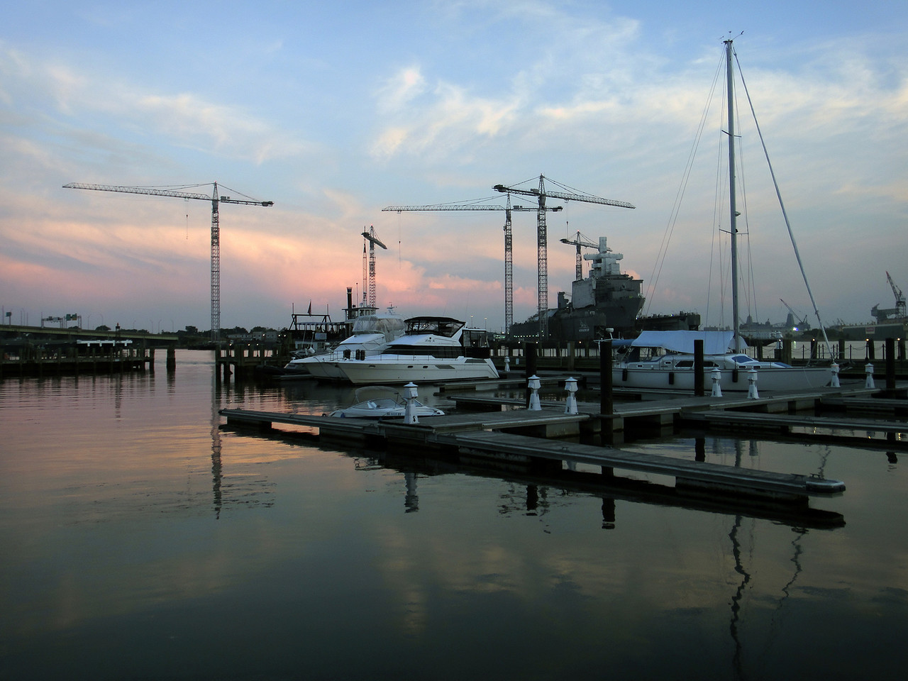 Waterside Marina in Norfolk, VA