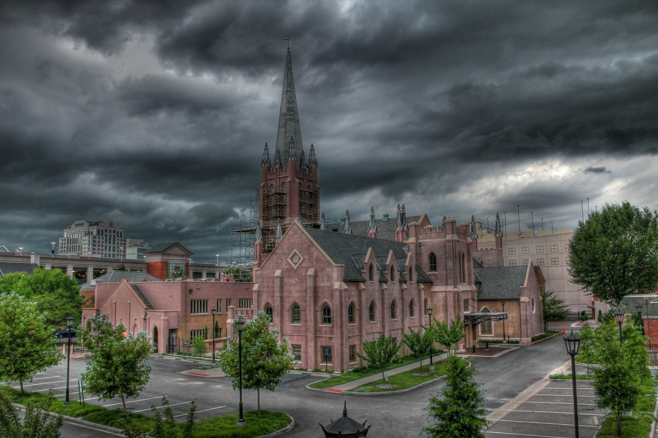 Storm Rolling In - Freemason Street Baptist Church