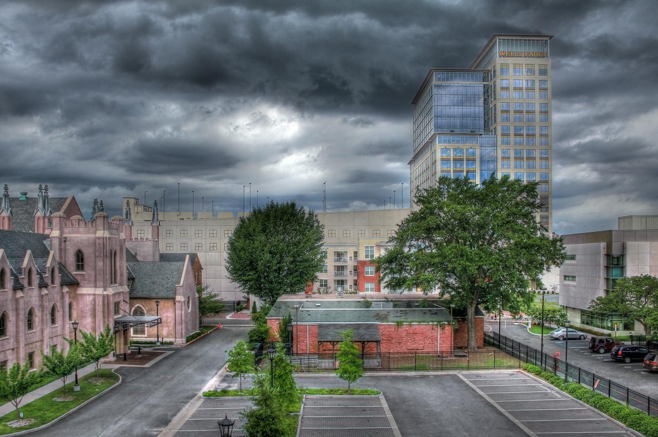 Storm Rolling In - St. Pauls/Wells Fargo