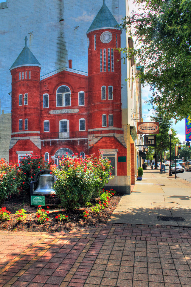 Main Street Mural - Downtown Suffolk, Virginia