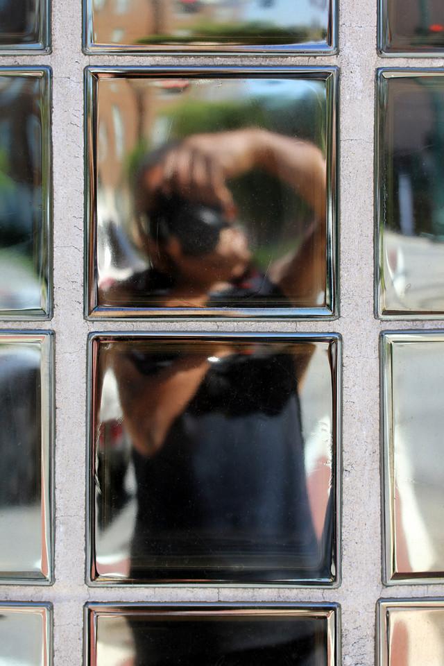 Self in Glass Blocks