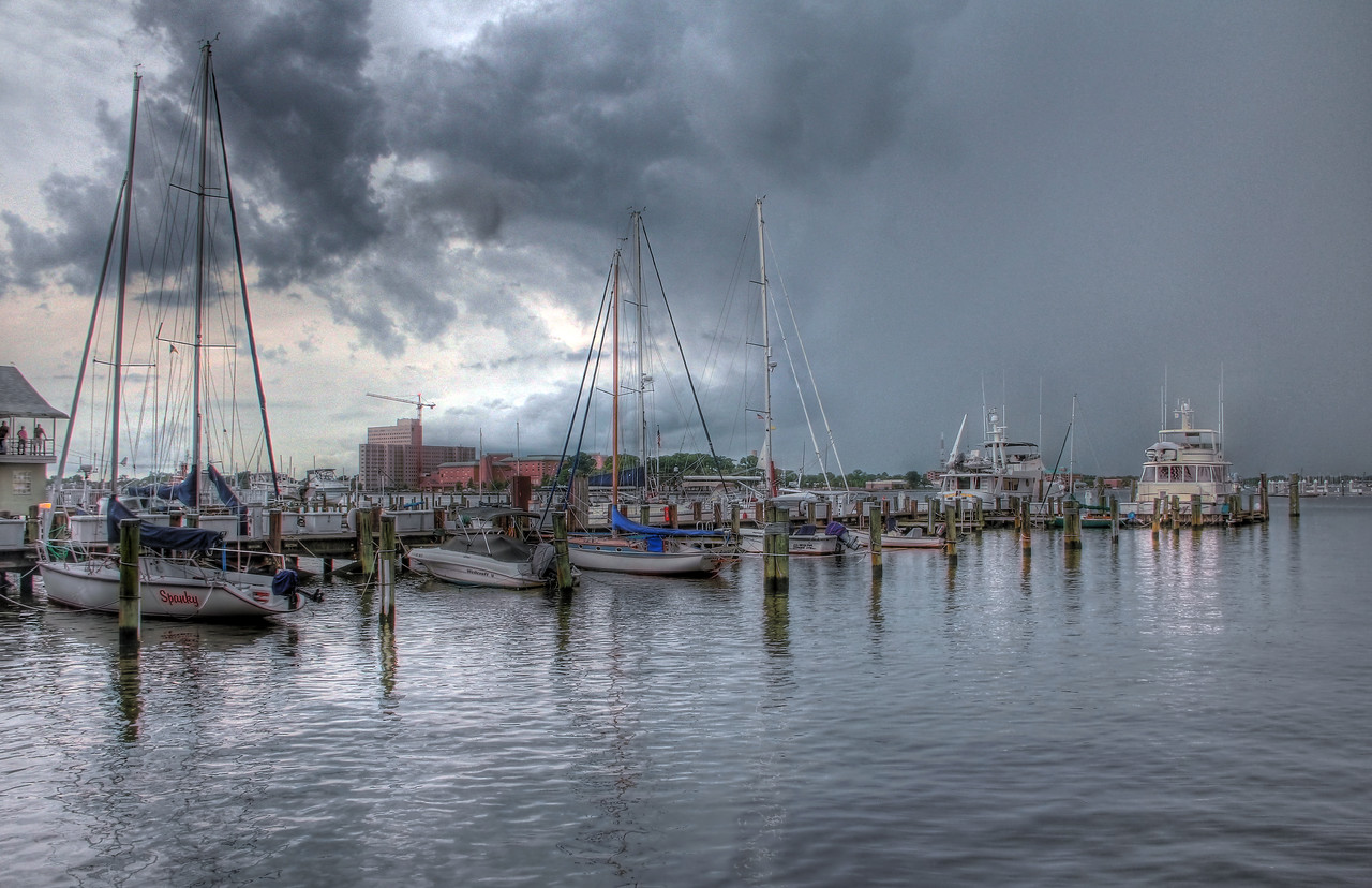 Storm Transition at Norfolk Boat Club