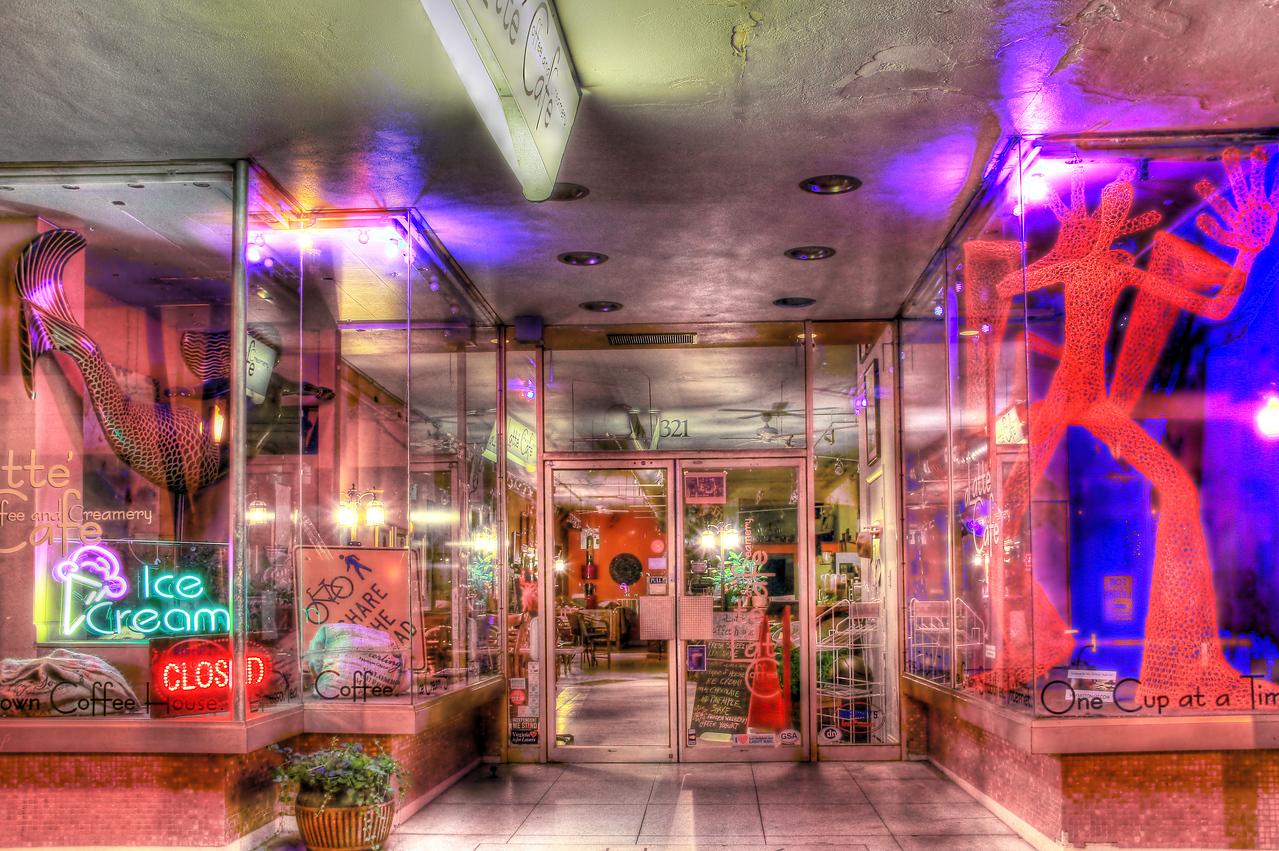 A Latte Coffee Cafe on Granby St Norfolk, Va