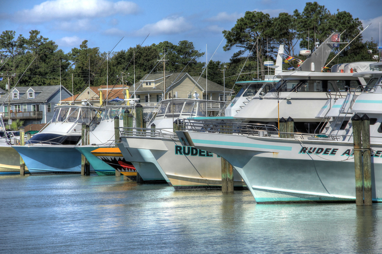 Rudee Inlet Marina, Virginia Beach 2012