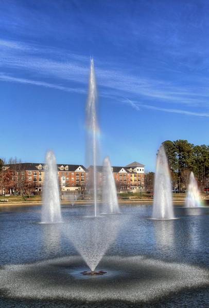 City Center Fountain - Newport News