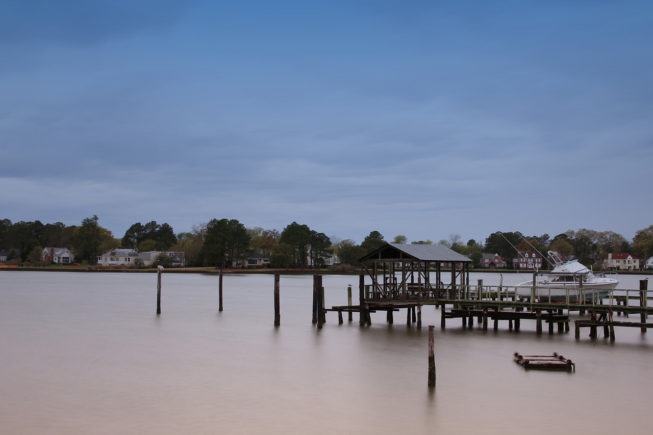 Lafayette River Private Residential Pier