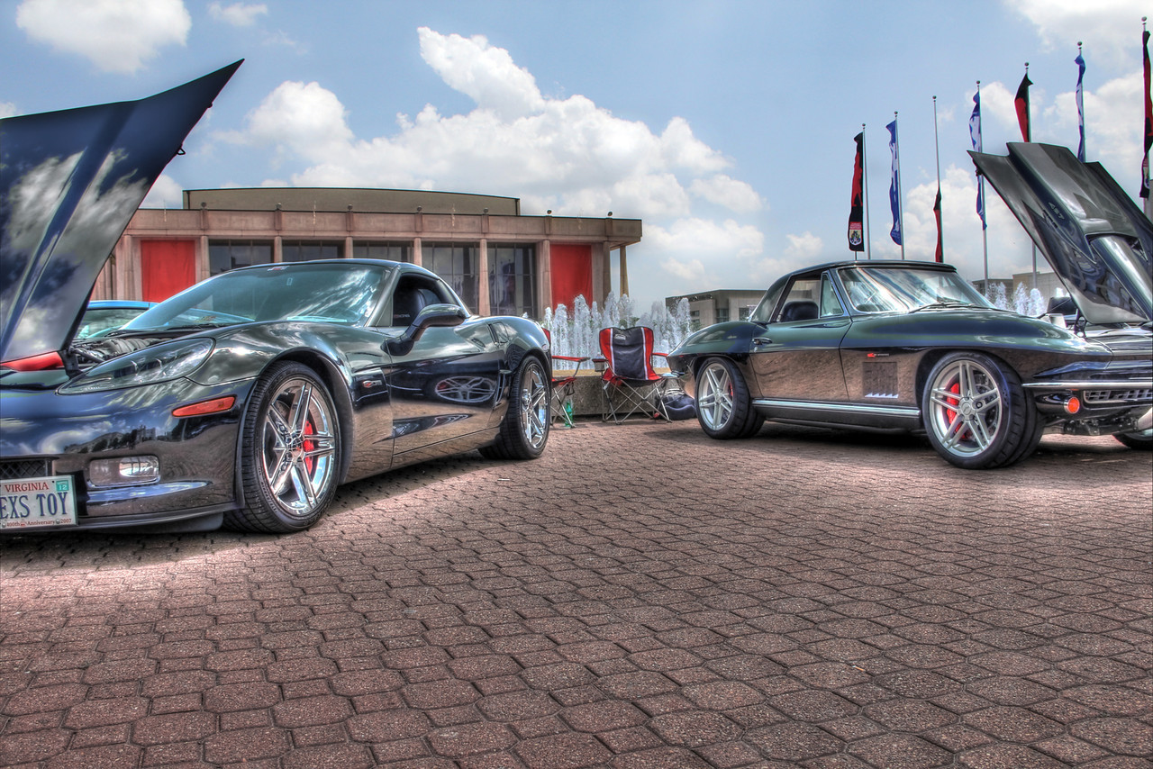 Corvette Show at the Chrysler Hall, Norfolk, Virginia