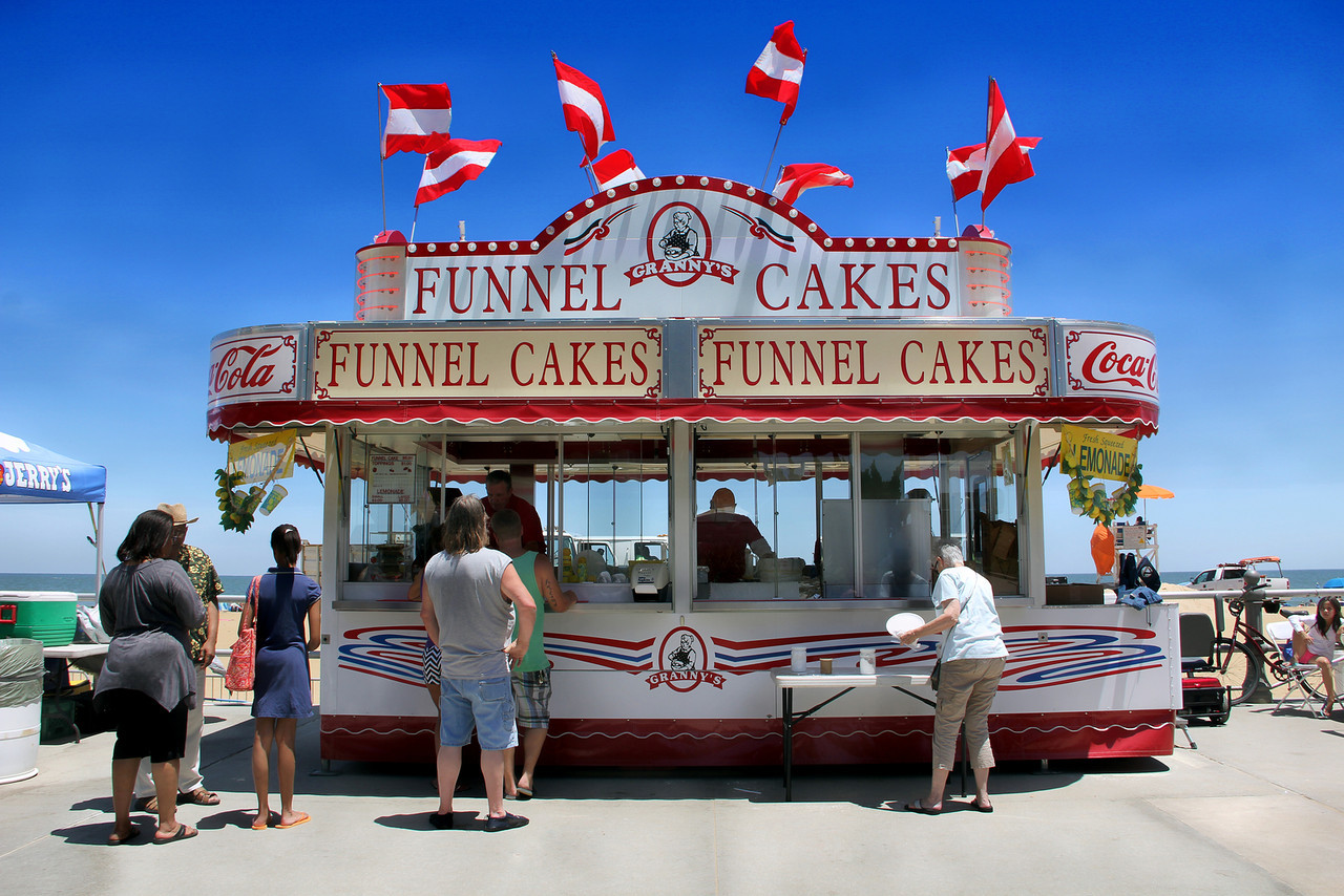 Granny's Funnel Cakes @ Boardwalk Art Festival