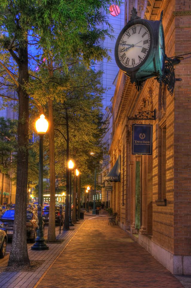 Main Street Downtown Norfolk