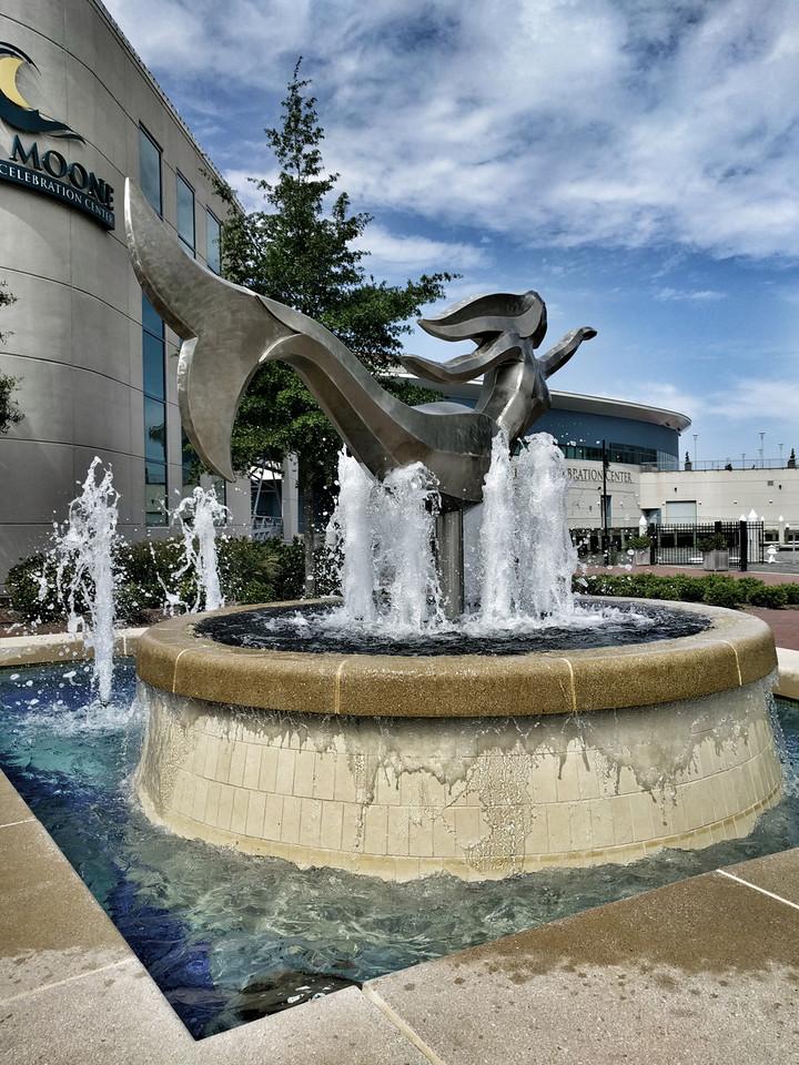 Town Point Park Mermaid - Karen: The Norfolk Mermaid