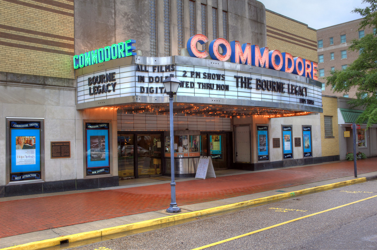 Commodore Theater on High Street Portsmouth, VA