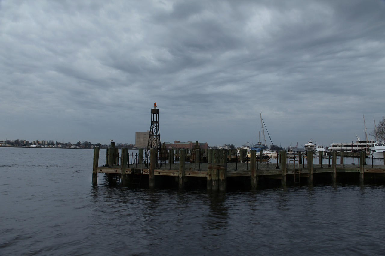 Waterside Marina - Storm Looming
