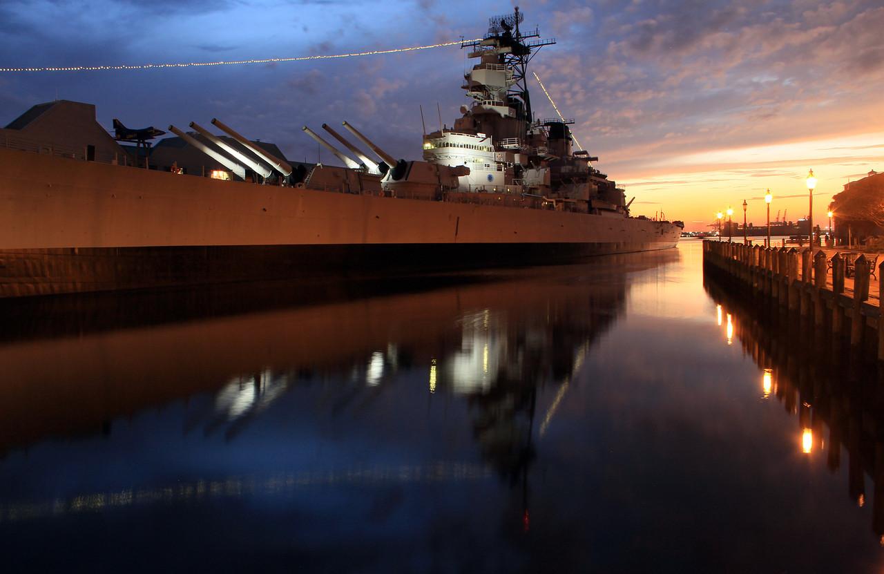 2012 Battleship Winconsin Downtown, Norfolk