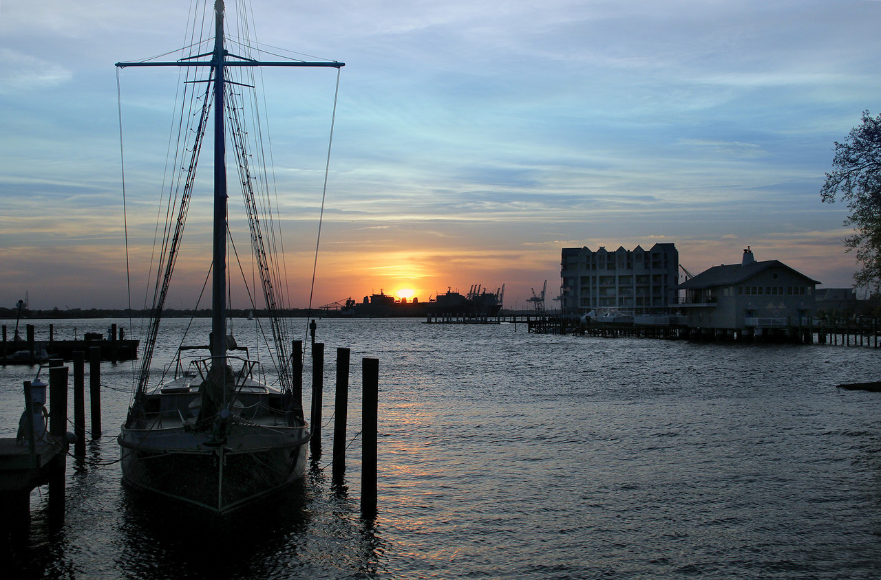 College Place/Harbor Square Sunset