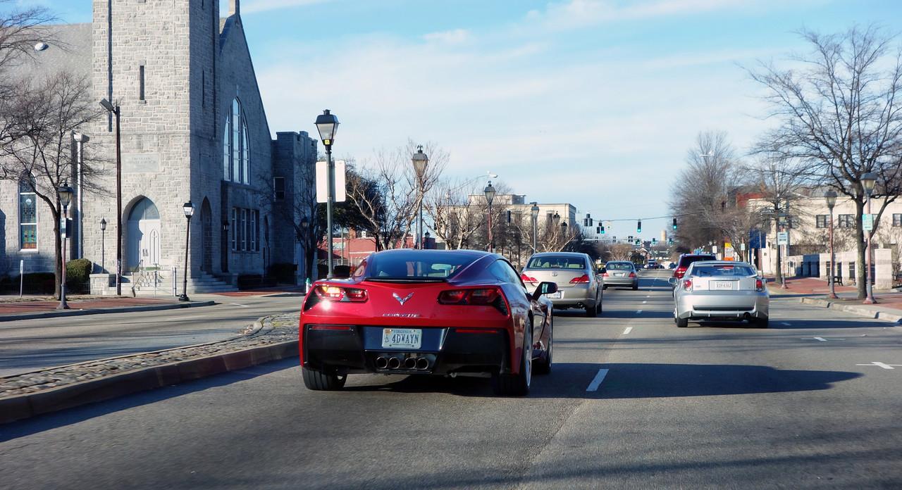2015 Corvette Down Effingham