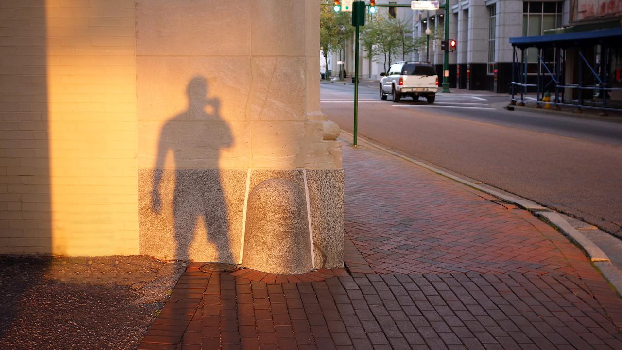 Self Portrait, City Hall Ave, Norfolk