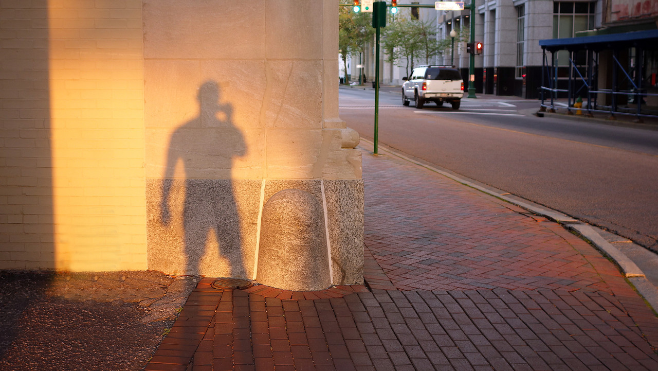 Self Portrait, City Hall Ave, Norfolk