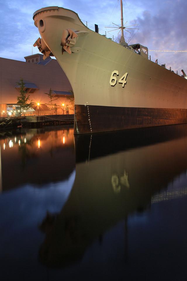 2012 Battleship Wisconsin - Berthed at Nauticus