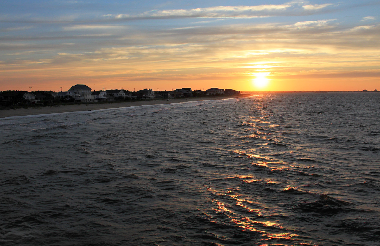 Ocean View Sunset, Norfolk