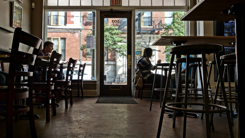Inside Cure Coffeehouse