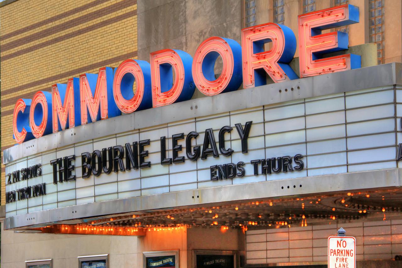 Commodore Theatre Marquee - Portsmouth, VA