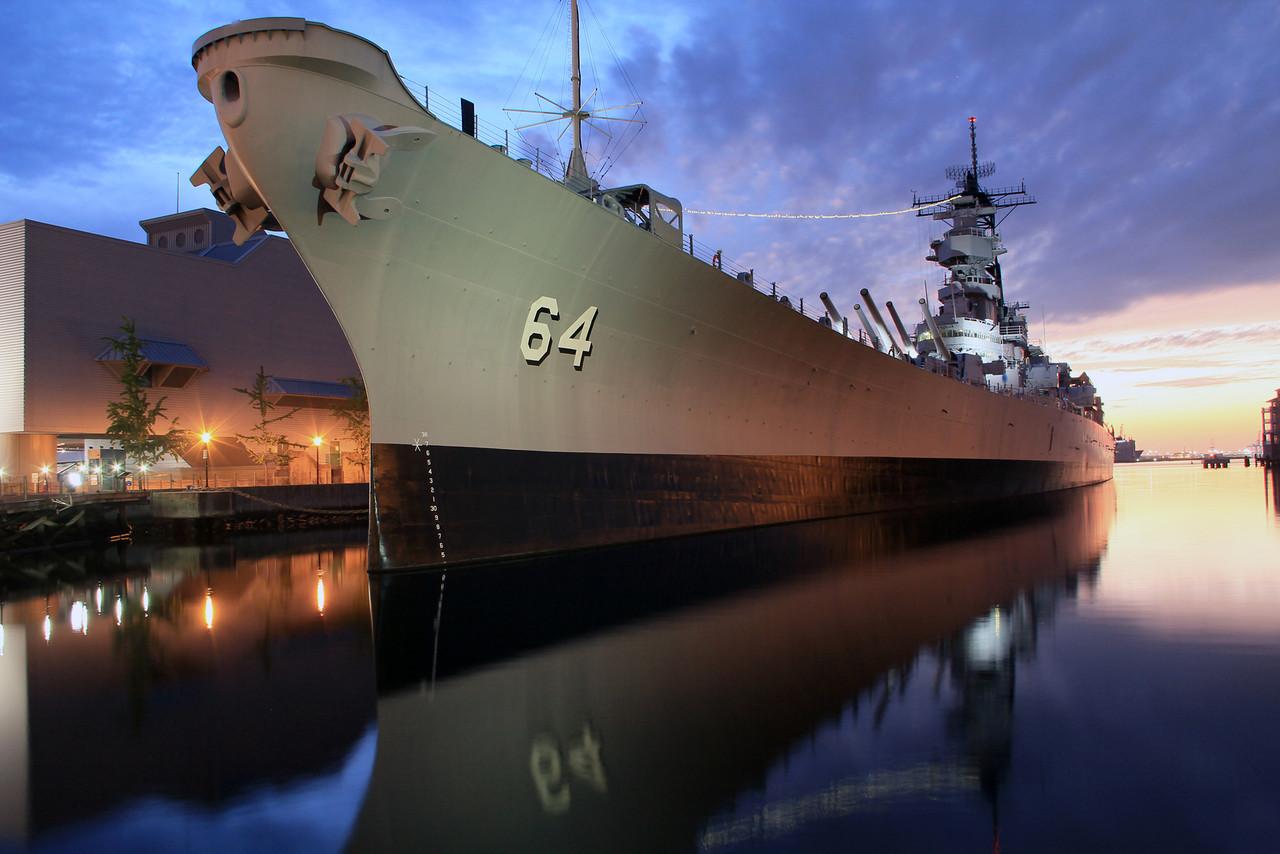 2012 Battleship Wisconsin - Full - Downtown Norfolk